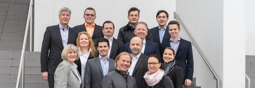 Kandidaten der CDU für die Kommunalwahl 2016