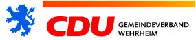 Logo von CDU Wehrheim